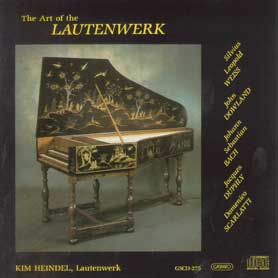 Music by J.S. Bach (1685-1750) on the Lute-Harpsichord Aufs Lautenwerk