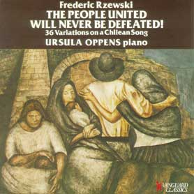 Frederic Rzewski The People United Will Never Be Defeated